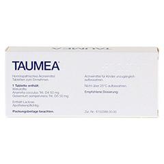 TAUMEA Tabletten 80 Stück - Rückseite