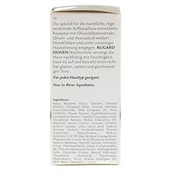 RUGARD Oliven Nachtcreme 50 Milliliter - Rechte Seite