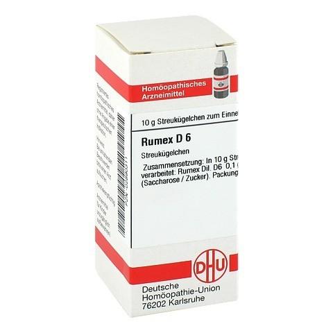 RUMEX D 6 Globuli 10 Gramm N1
