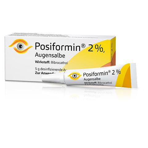 POSIFORMIN 2% Augensalbe 5 Gramm N2
