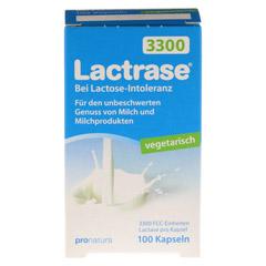 LACTRASE vegetarisch 3.300 Kapseln 100 Stück - Vorderseite