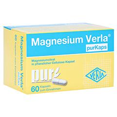 MAGNESIUM VERLA purKaps vegane Kapseln z.Einnehmen 60 St�ck