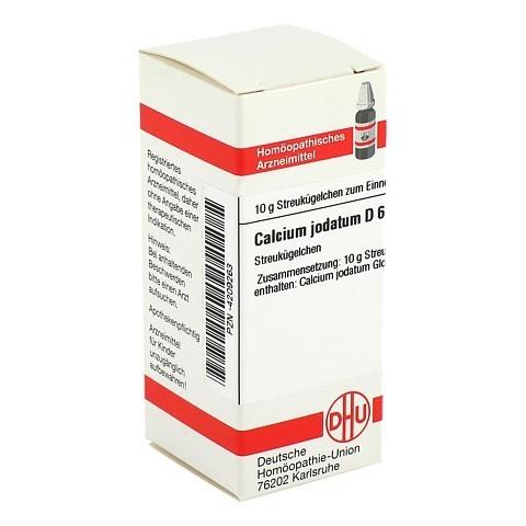 CALCIUM JODATUM D 6 Globuli 10 Gramm N1