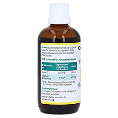 GRAPEFRUIT KERN Extrakt Bio Lösung 100 Milliliter - Rechte Seite