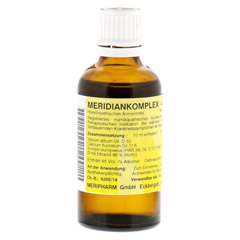 MERIDIANKOMPLEX 4 Tropfen zum Einnehmen 50 Milliliter N1