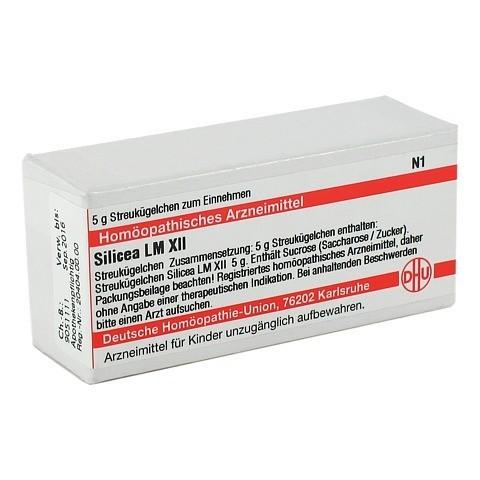 LM SILICEA XII Globuli 5 Gramm N1
