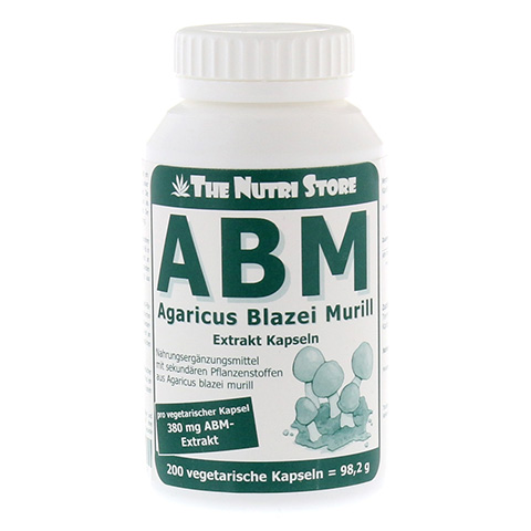 ABM Agaricus Blazei Murill Extrakt vegetar.Kps. 200 Stück