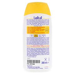 LADIVAL allergische Haut Gel LSF 25 200 Milliliter - Rückseite