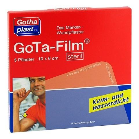 GOTA FILM steril 10x6cm Pflaster 5 St�ck