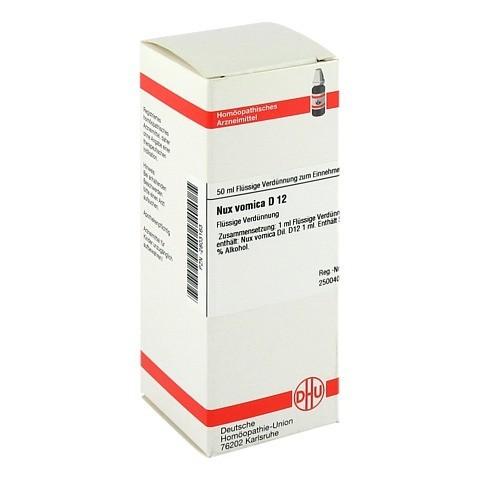 NUX VOMICA D 12 Dilution 50 Milliliter N1