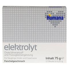 HUMANA Elektrolyt Fenchel Pulver 75 Gramm - Vorderseite