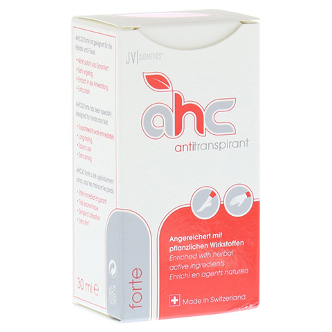 AHC forte Antitranspirant flüssig 30 Milliliter