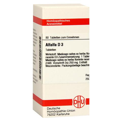 ALFALFA D 3 Tabletten 80 Stück N1