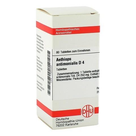 AETHIOPS antimonialis D 4 Tabletten 80 Stück N1