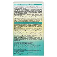 HOLLE Bio Kinder Tee 30 Gramm - Linke Seite
