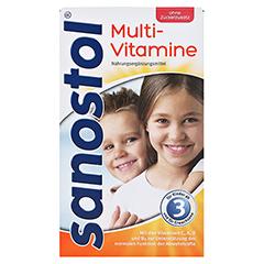 SANOSTOL ohne Zuckerzusatz Saft 230 Milliliter - Vorderseite