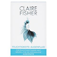 CLAIRE FISHER Feuchtigkeits-Augenfluid 15 Milliliter - Vorderseite