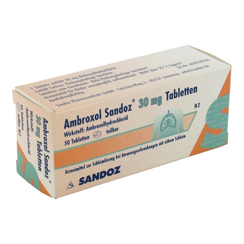 ambroxol sandoz 30 mg tabletten 50 st ck n2 online. Black Bedroom Furniture Sets. Home Design Ideas