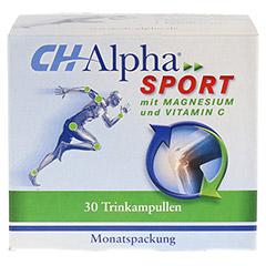 CH ALPHA Sport Trinkampullen 30 Stück - Vorderseite