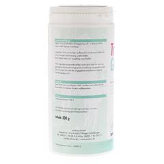 TRINKGELATINE Pulver 500 Gramm - Linke Seite