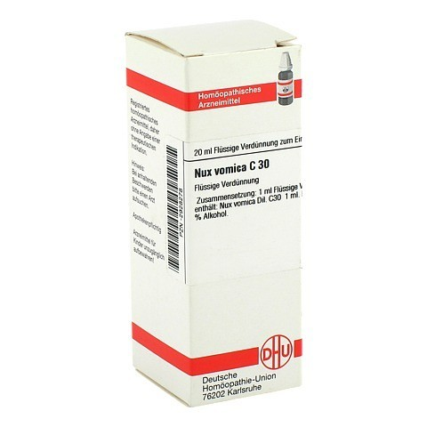 NUX VOMICA C 30 Dilution 20 Milliliter N1