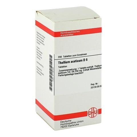 THALLIUM ACETICUM D 6 Tabletten 200 St�ck N2