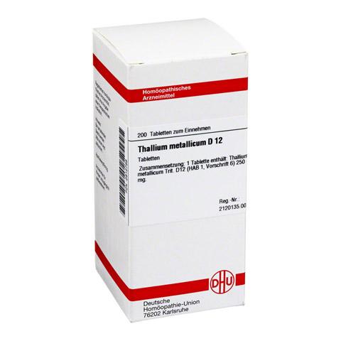 THALLIUM METALLICUM D 12 Tabletten 200 Stück N2