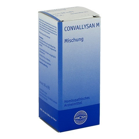 CONVALLYSAN M fl�ssig 50 Milliliter N1