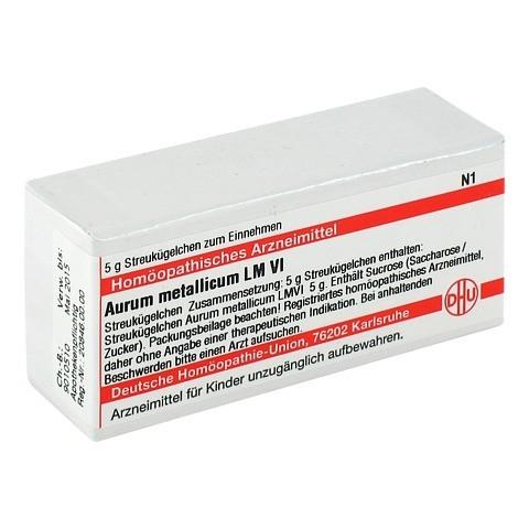 LM AURUM metallicum VI Globuli 5 Gramm N1