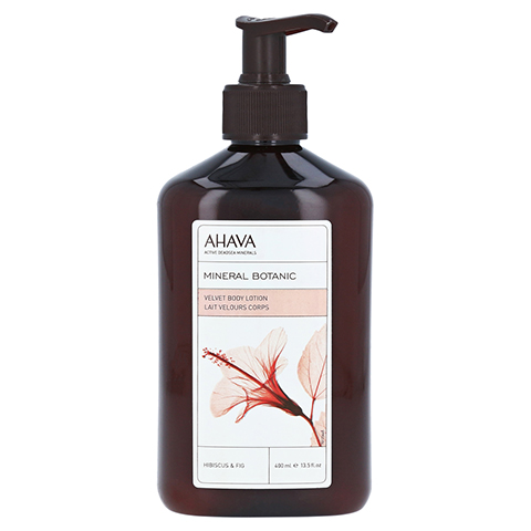 Ahava Mineral Botanic Body Lotion Hibiskus/Feige 400 Milliliter