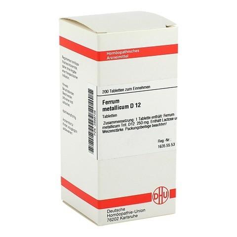 FERRUM METALLICUM D 12 Tabletten 200 Stück N2