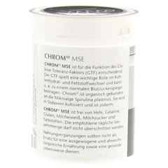 CHROM III MSE 50 �g Tabletten 120 St�ck - Linke Seite