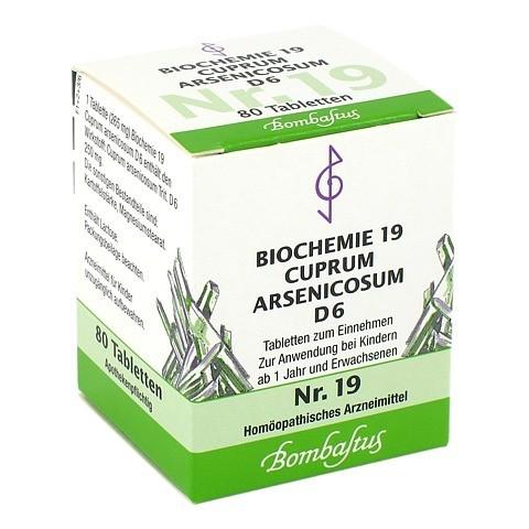 BIOCHEMIE 19 Cuprum arsenicosum D 6 Tabletten 80 St�ck N1