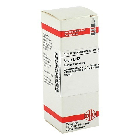 SEPIA D 12 Dilution 20 Milliliter N1