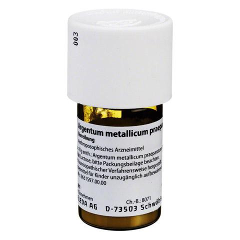 ARGENTUM METALLICUM praeparatum D 30 Trituration 20 Gramm N1