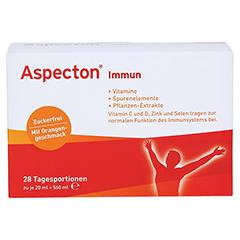 ASPECTON Immun Trinkampullen 28 Stück - Vorderseite