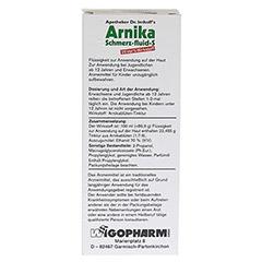 APOTHEKER Dr.Imhoff's Arnika Schmerz-fluid S 100 Milliliter - Rückseite