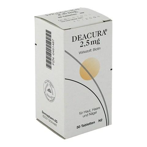 DEACURA 2,5 mg Tabletten 50 Stück N2