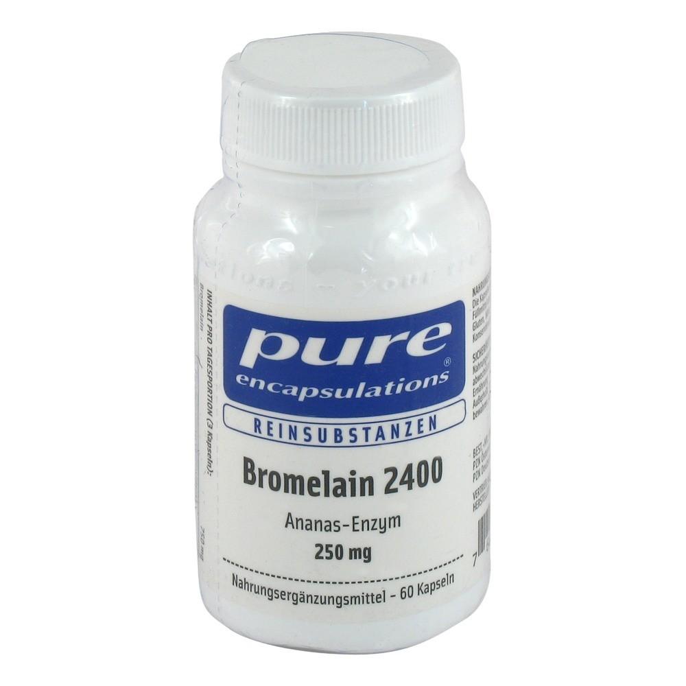 pure encapsulations bromelain 2400 250 mg kapseln 60 st ck online bestellen medpex versandapotheke. Black Bedroom Furniture Sets. Home Design Ideas