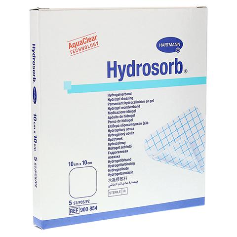 HYDROSORB Wundverband 10x10 cm 5 St�ck