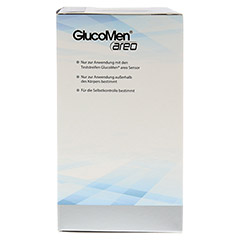 GLUCOMEN areo Blutzuckermessgerät Set mmol/l 1 Stück - Rechte Seite