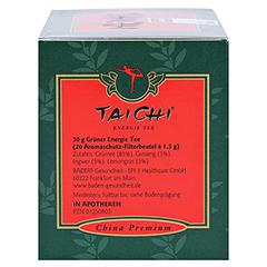 TAI CHI Energie Tee mit Ginseng Filterbeutel 20 Stück - Rechte Seite