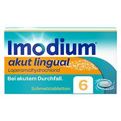 Imodium akut lingual 6 Stück