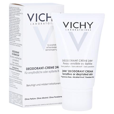 VICHY Deocreme für sehr empfindliche Haut 40 Milliliter