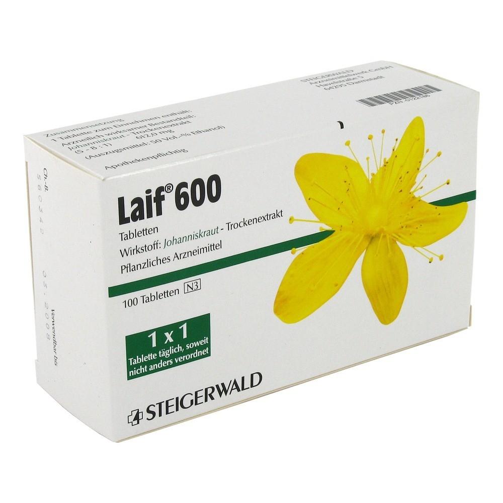 LAIF 600 Tabletten 100 Stück online bestellen - medpex