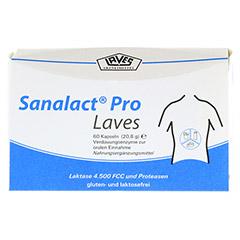 SANALACT Pro Laves Kapseln 60 Stück - Vorderseite