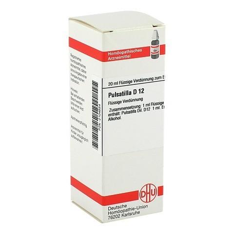 PULSATILLA D 12 Dilution 20 Milliliter N1