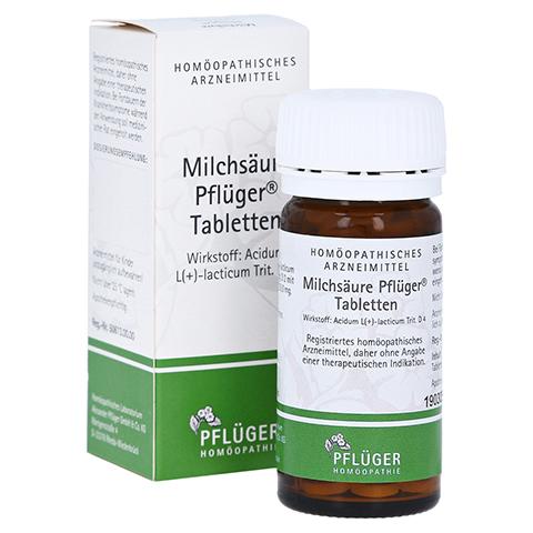 MILCHS�URE Pfl�ger Tabletten 100 St�ck
