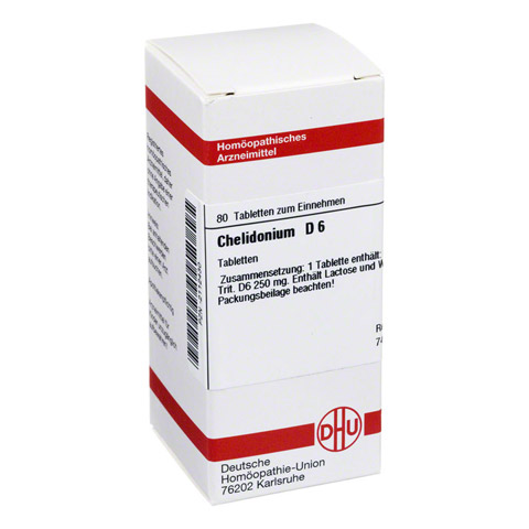CHELIDONIUM D 6 Tabletten 80 Stück N1