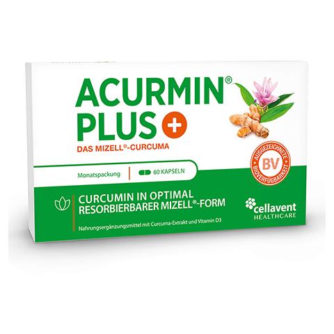 Acurmin Plus Das Mizell-Curcuma Weichkapseln 60 Stück